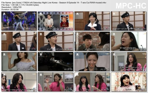[ara Subs] 170624 tvN Saturday Night Live Korea - Season 9 Episode 14 - T-ara Cut RAW-muxed.mkv_thumbs